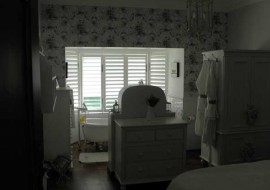 Aluminium Shutters Window Bathroom